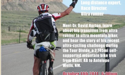 This Tuesday! Tour Divide Presentation – Dr. David Horton