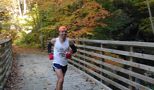 Run Around the Gorge: One Skinny B in Double-U Vee