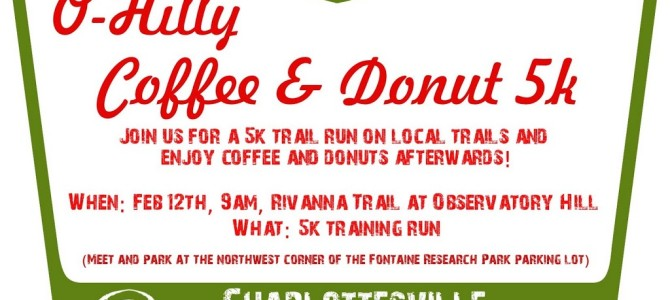 O-Hilly Coffee and Donut 5K Training Run