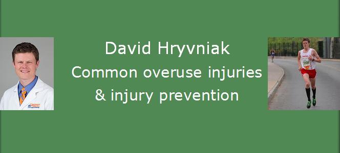 CAT Speaker Series: David Hryvniak, Common Running Injuries and Injury Prevention