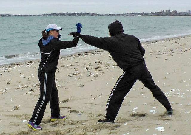 Krav Training_Beach 1